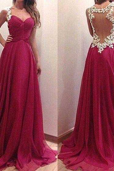 Sexy open Back Prom Dresses,Burgundy Graduation Dresses,Sexy Evening Dress,Sexy Burgundy Prom Dress